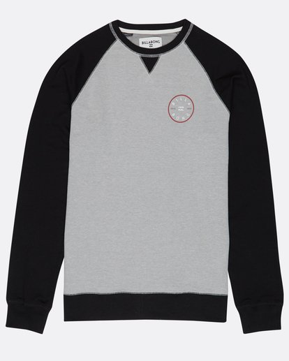 0 Piston Crew Fleece Gris H1CR02BIP8 Billabong