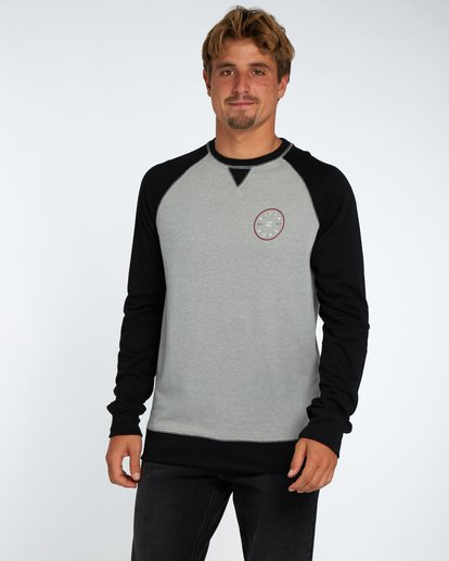 1 Piston Crew Fleece Gris H1CR02BIP8 Billabong