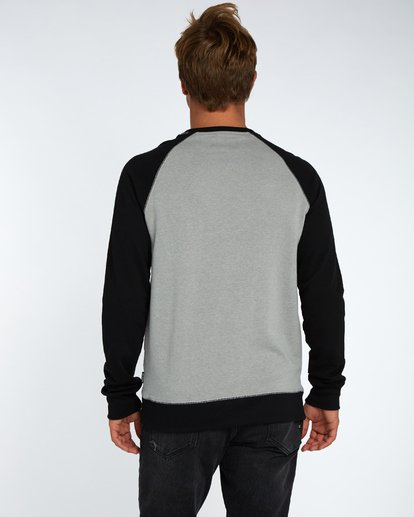 3 Piston Crew Fleece Gris H1CR02BIP8 Billabong