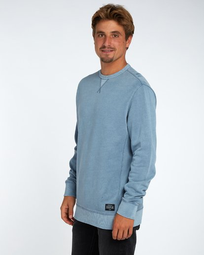 2 Wave Washed Crew Fleece Bleu H1FL03BIP8 Billabong