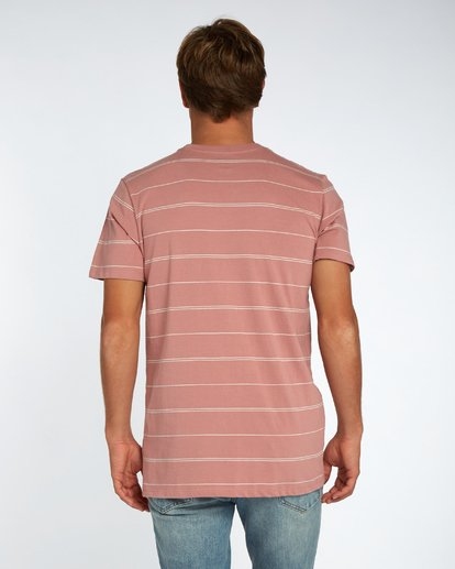 3 Die Cut Stripe T-Shirt Rouge H1JE12BIP8 Billabong
