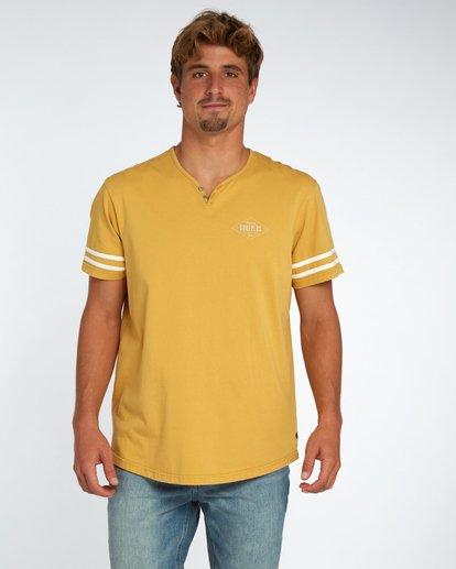 1 Hermosa T-Shirt Gelb H1JE17BIP8 Billabong