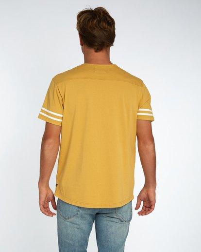 3 Hermosa T-Shirt Gelb H1JE17BIP8 Billabong