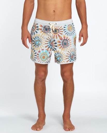 1 73 Line Up Laybacks 16Boardshort Beige H1LB02BIP8 Billabong