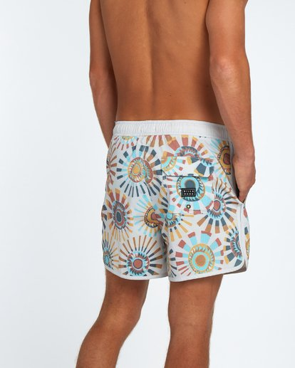 6 73 Line Up Laybacks 16Boardshort Beige H1LB02BIP8 Billabong