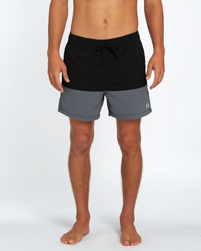 "6 Fifty50 Laybacks 16"" Boardshorts Noir H1LB10BIP8 Billabong"