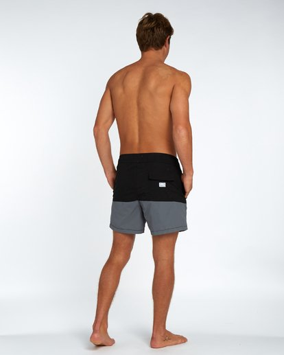 "2 Fifty50 Laybacks 16"" Boardshorts Noir H1LB10BIP8 Billabong"