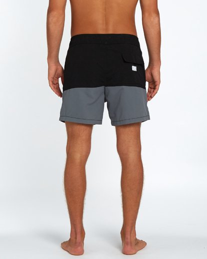 "3 Fifty50 Laybacks 16"" Boardshorts Noir H1LB10BIP8 Billabong"