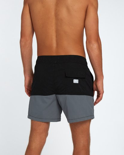 "5 Fifty50 Laybacks 16"" Boardshorts Noir H1LB10BIP8 Billabong"