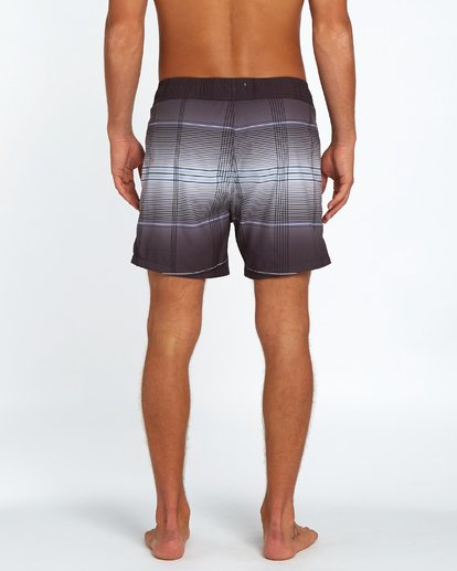 "3 All Day Geo Laybacks 16"" Boardshort Noir H1LB15BIP8 Billabong"
