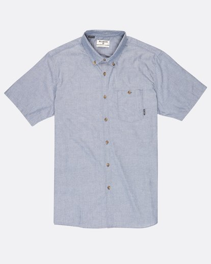 0 All Day Oxford Shirt Bleu H1SH01BIP8 Billabong