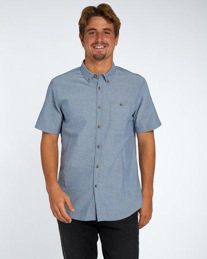 1 All Day Oxford Shirt Bleu H1SH01BIP8 Billabong