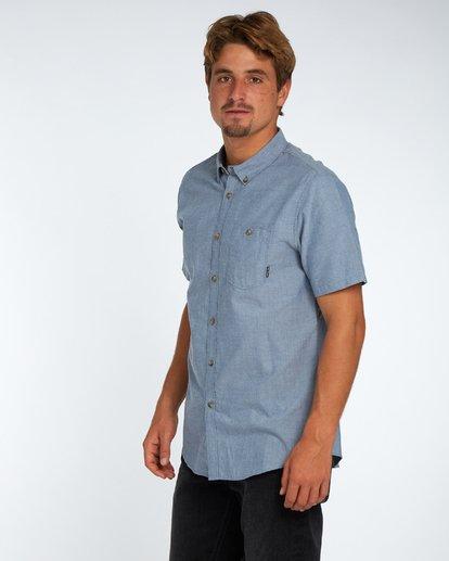 2 All Day Oxford Shirt Bleu H1SH01BIP8 Billabong