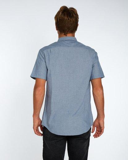 3 All Day Oxford Shirt Bleu H1SH01BIP8 Billabong