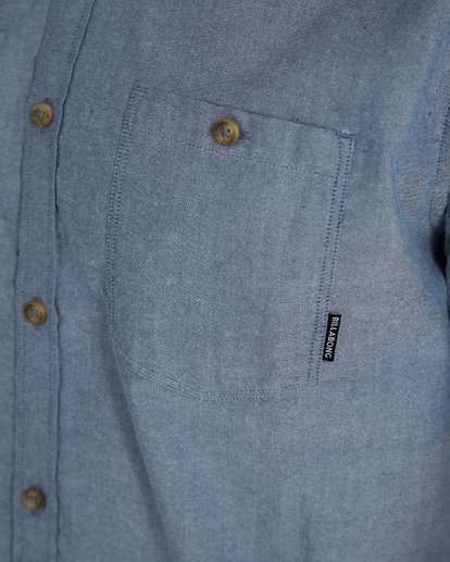4 All Day Oxford Shirt Bleu H1SH01BIP8 Billabong