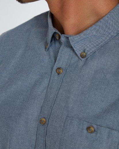 5 All Day Oxford Shirt Bleu H1SH01BIP8 Billabong