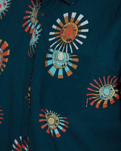 4 Sunday Floral Shirt Bleu H1SH03BIP8 Billabong