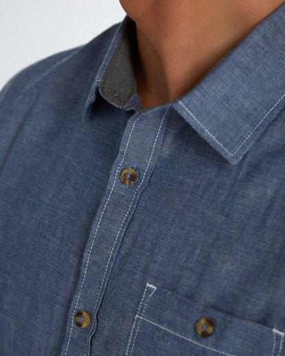 5 All Day Chambray Long Sleeve Shirt Bleu H1SH12BIP8 Billabong