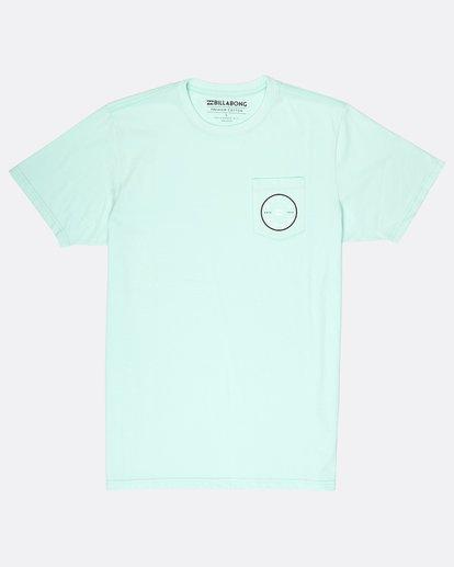 0 Piston T-Shirt Vert H1SS03BIP8 Billabong