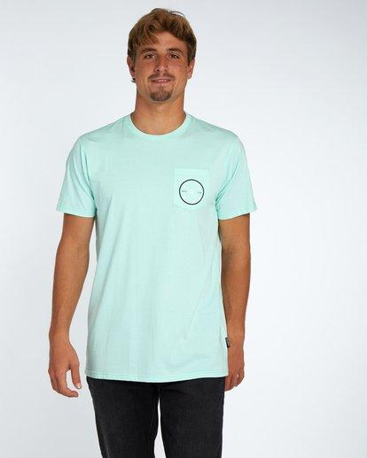 1 Piston T-Shirt Vert H1SS03BIP8 Billabong