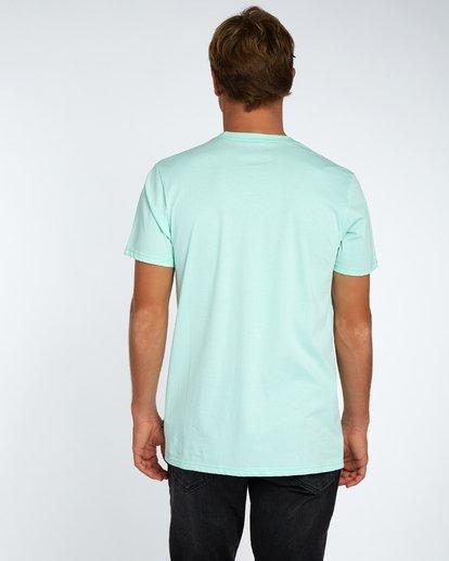 3 Piston T-Shirt Vert H1SS03BIP8 Billabong