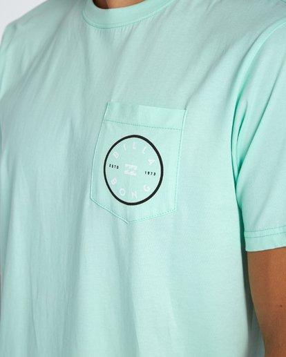 4 Piston T-Shirt Vert H1SS03BIP8 Billabong