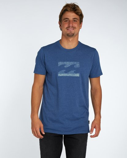 1 Wave T-Shirt Bleu H1SS04BIP8 Billabong