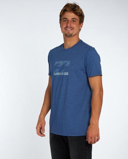 2 Wave T-Shirt Bleu H1SS04BIP8 Billabong