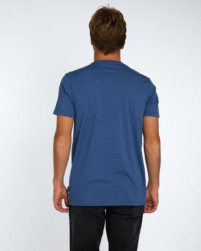 3 Wave T-Shirt Bleu H1SS04BIP8 Billabong