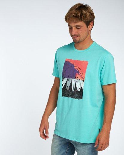 2 Chilly T-Shirt Bleu H1SS08BIP8 Billabong