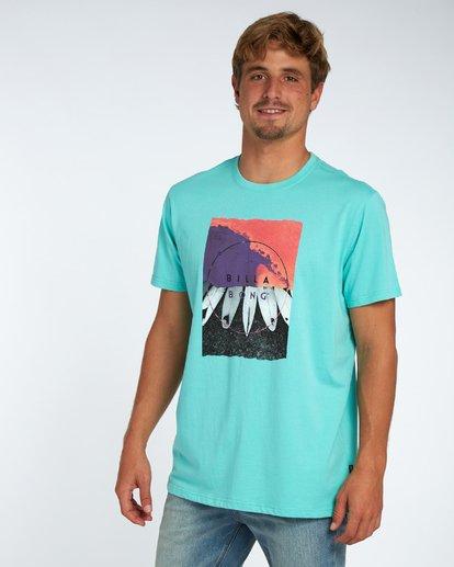 3 Chilly T-Shirt Bleu H1SS08BIP8 Billabong