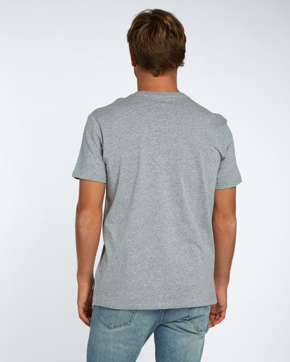 3 Blue Room T-Shirt Grau H1SS14BIP8 Billabong