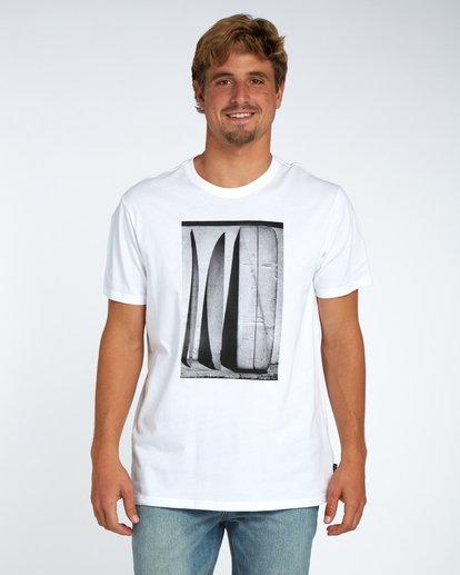 1 Blue Room T-Shirt White H1SS14BIP8 Billabong