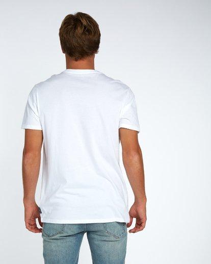 3 Blue Room T-Shirt White H1SS14BIP8 Billabong