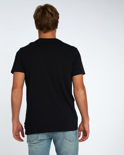 3 Blue Room T-Shirt Black H1SS14BIP8 Billabong
