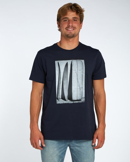 0 Blue Room T-Shirt Blue H1SS14BIP8 Billabong