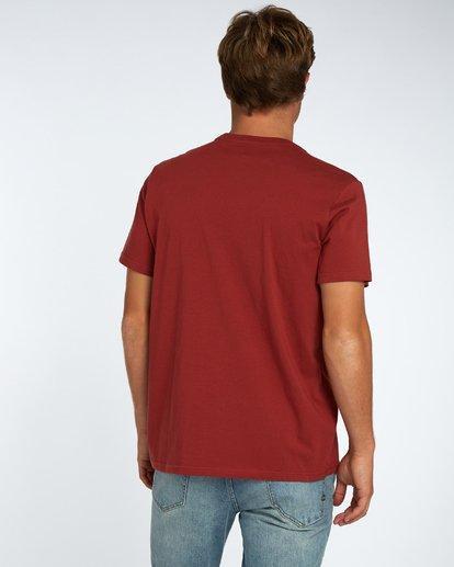 3 Blue Room T-Shirt Marron H1SS14BIP8 Billabong
