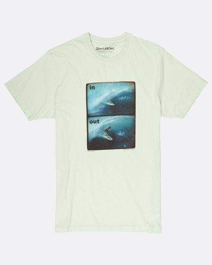 0 In/Out T-Shirt Grün H1SS16BIP8 Billabong