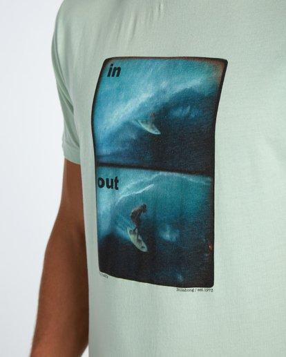 2 In/Out T-Shirt Grün H1SS16BIP8 Billabong