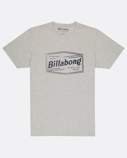 0 Labrea T-Shirt Gris H1SS17BIP8 Billabong