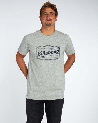 1 Labrea T-Shirt Gris H1SS17BIP8 Billabong