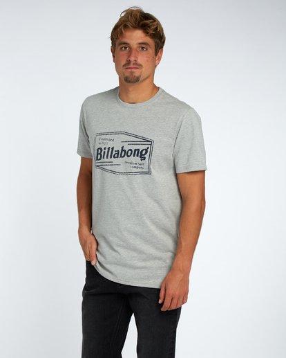 2 Labrea T-Shirt Gris H1SS17BIP8 Billabong