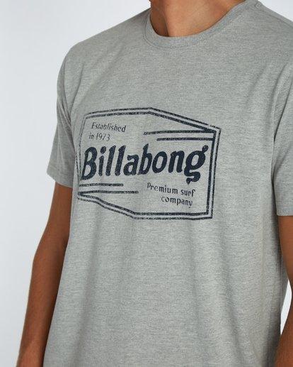4 Labrea T-Shirt Gris H1SS17BIP8 Billabong