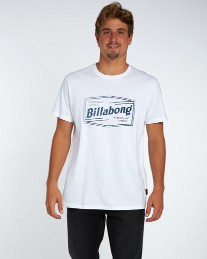 1 Labrea T-Shirt Blanc H1SS17BIP8 Billabong