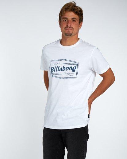 2 Labrea T-Shirt Blanc H1SS17BIP8 Billabong