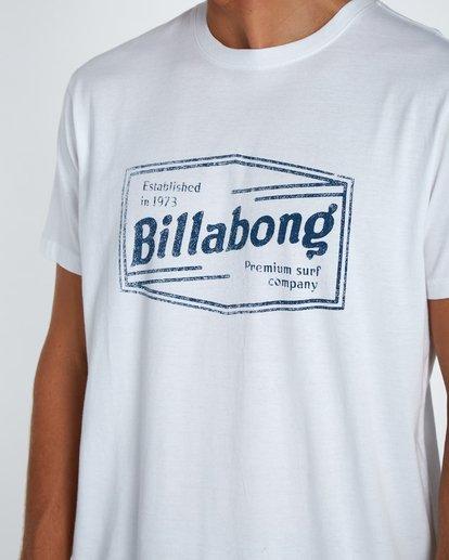4 Labrea T-Shirt Blanc H1SS17BIP8 Billabong