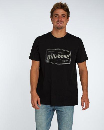 1 Labrea T-Shirt Schwarz H1SS17BIP8 Billabong