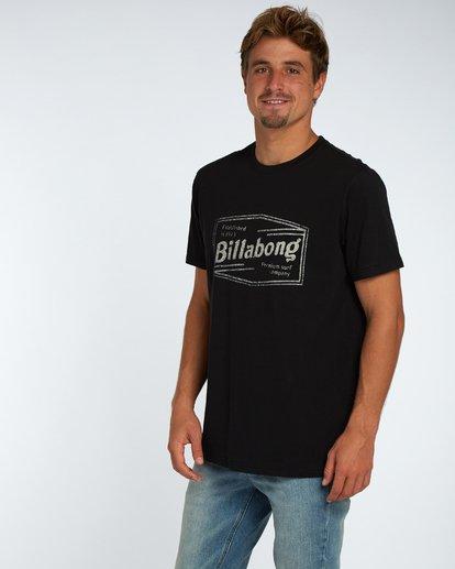 2 Labrea T-Shirt Negro H1SS17BIP8 Billabong