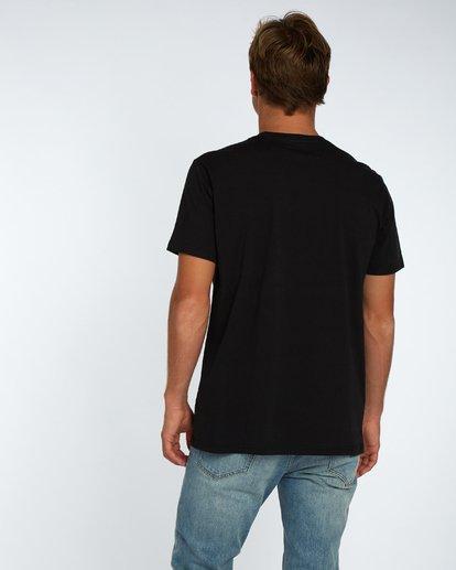 3 Labrea T-Shirt Negro H1SS17BIP8 Billabong