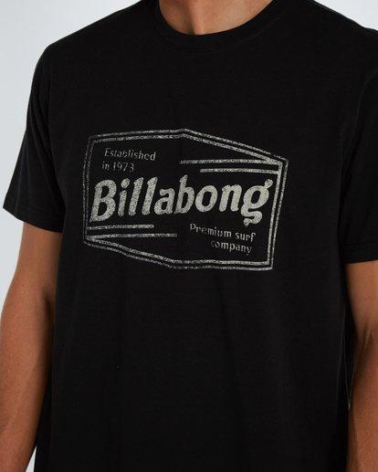 4 Labrea T-Shirt Negro H1SS17BIP8 Billabong